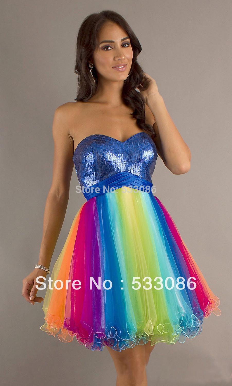 Rainbow Dress for Sale