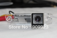 Hot sell+Free shipping CCD Chip Car Rear View Reverse Parking Camera for Hyundai Old Elantra Kia Sportage 2011