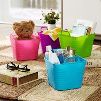 Desktop storage box mini candy color desktop storage basket miscellaneously finishing box glove box