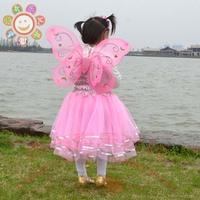 Female child princess dress tulle dress costume performance dress