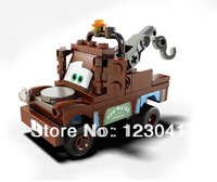 Free shipping DIY Building Block Pixar Toys Cars Mater for Children's Gift