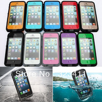 Color Waterproof Shockproof Dirt Proof Durable Case Cover For New Apple iPhone 5 freeshipping