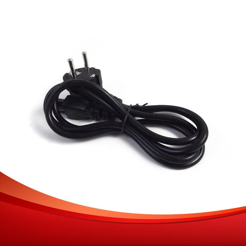 Wholesale100pcs !! Cheap 1.2M Power Cable Standard Europe Power Extension Cable Free Shipping DHL(China (Mainland))