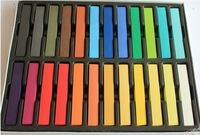 12 Colors Fashion Hot Fast Non-toxic Temporary Pastel Hair Dye Color Chalk[200604]