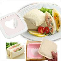 Pocket sandwich mould diy bentos balls toast baby cake bread machine