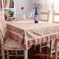 Cloth rustic fashion lace table cloth round table tablecloth dining table cloth chair cover table cloth elegant rose