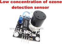 Free shipping MQ131ozone gas sensor module, qualitative detection of low concentrations,with analog and TTL signal output level