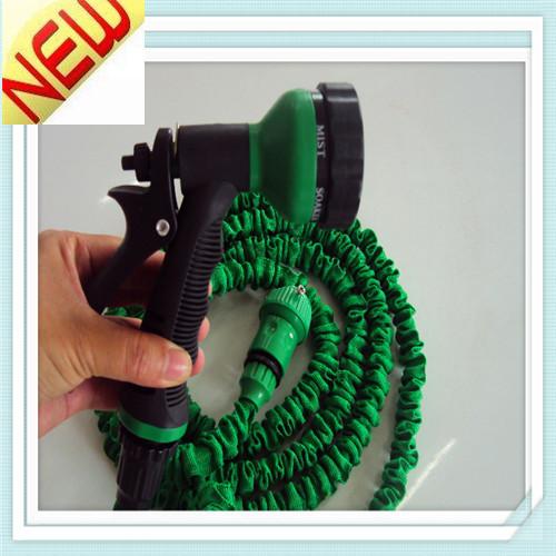 50FT Stretch garden water hose pressure gun with best garden sprayer(China (Mainland))