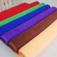 Nano-absorbent microfiber towel weft Cleaning Beauty Magic towel 25 x 25cm flexible hand towel T0006
