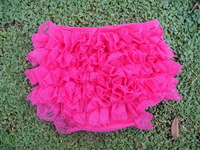 New 2013 free shipping Cute Briefs for baby girls Rose red Lace TUTU panties Lovely bread pants 12 pcs lot KP1060