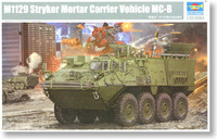 Spot Trumpeter Model 1 / 35 U.S. M1129 Stryker Mortar 01512 Military simulation assembly model toys 820pcs 20.6cm