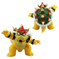 "1(pcs)XNew Super Mario Bros Bowser Koopa 3.6"" PVC Figure Collectible Toy Gift Toy for Kids FREE SHIPPING  WORLDWID"
