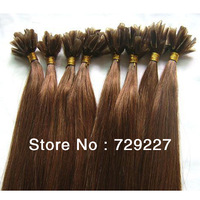 2013 hot sale virgin brazilian pre-bond u-tip hair extension