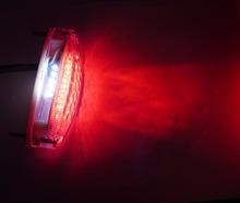 Free Shipping Shiny Round Black Chrome Motorcycle Motorbike Ebike Rear Signals Light Trail Lamp  (LL00202)(China (Mainland))