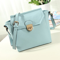 Candy color lockbutton 2013 messenger bag small bag fashion women's messenger bag female bags new arrival