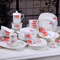 First level - bone china dinnerware set 86 dishes set carousingly