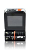 Drop shipping! F9A Car DVR Camera HD 1080P real 720p Recorder 30FPS 5.0 MP G-Sensor CMOS GPS Car Black Box  Zoran
