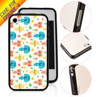 Free Shipping Original Designer Print Cover TPU & PC Hybrid Case For iPhone 4 4s 10pcs/lot Wholesale arts ZC1543
