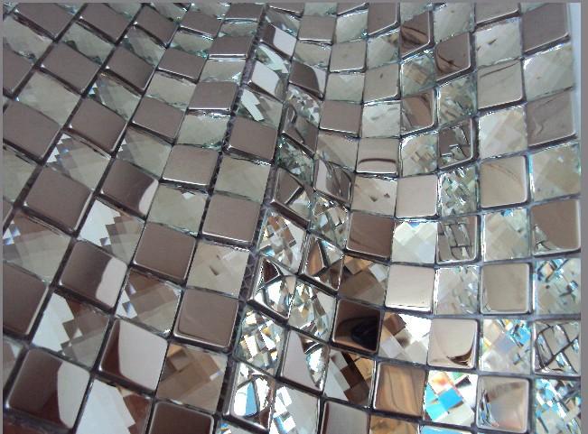 Mirror mosaic tile promotion online shopping for promotional mirror mosaic tile on aliexpress - Silver tin backsplash tiles ...