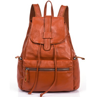 Genuine leather women backpack 2013 preppy style Students Backpacks  All-match School Travel Bag
