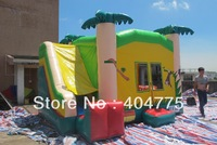 commercial grade inflatable animal slide combo with raincover on top+free carry bag+free CE/UL air blower+shipping