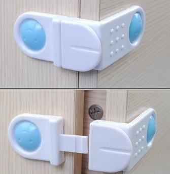 Box Drawer Cupboard Cabinet Wardrobe Door Fridge Safe Safety Lock for Baby Kid