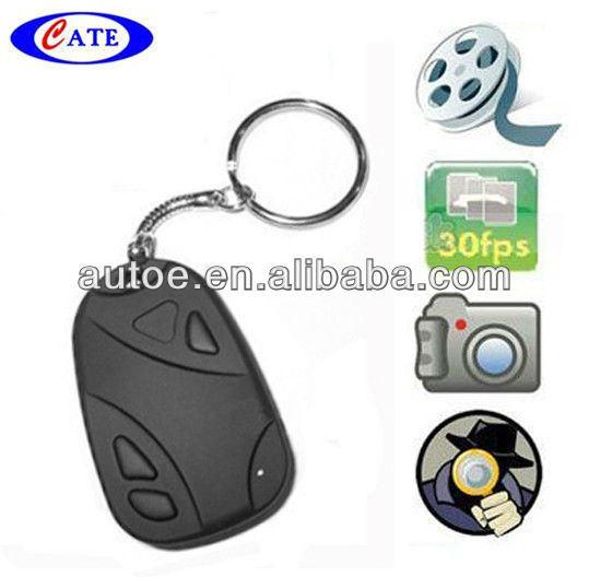Wholesale AVP009a 30FPS Car Key hidden mini dvr vedio camera recorder 720*480 DVR 16GB #808 (0308 lens)(China (Mainland))