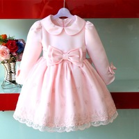 2013 autumn and winter girls clothing  child princess dress child dress flower girl dress