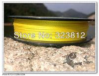 wholesale ---  Bargain price &Free shipping .High quality 300yards braided  fishing line 8lb ----50lb yellow . 100% PE