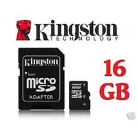 Free shipping retail 1pcs/lot Capacity 16GB Micro SD TF Flash Memory Card Mobile Series class 10 SDHC with adapter