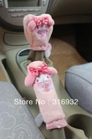 U2 Free shipping,my melody car accessories,hand brake cover/gear shift collars,2pcs/set