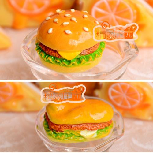 Doll house dollhouse furniture accessories bjd rustic chicken hamburger 1 2(China (Mainland))