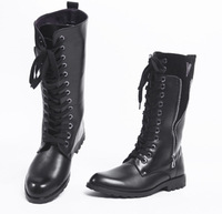13 european version of the cool fashion personality male boots cool trend of the denim boots high-leg boots