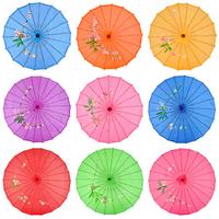 Free shipping silk umbrella fabric dance decoration umbrella same looking with oiled paper umbrella drama and cosplay umbrella