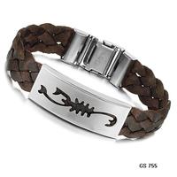 2014 silk weaving bracelet titanium brown bracelet handmade knitted bracelet rope bracelet ph755 scorponok  wholesale