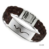 2014 wholesale bracelets & bangles titanium knitted strap male bracelet ph518 the bracelets  wholesale