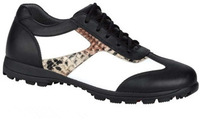 Free Shipping.2014 Hot Sale Brand Ladies, Classic soft Golf Shoes,Genuine leather