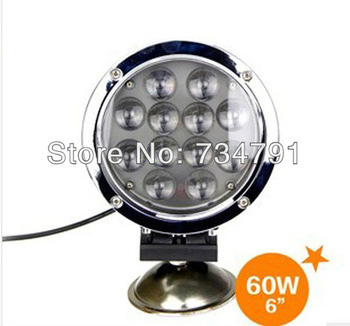 Free shipping 6Inch 60W LED Light Bar Combo Beam LED Driving Light For Off road ATV 4X4 Truck Saved