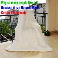 1.8m*2m Handmade Pure Cotton bedding Twin quilt 2.5kg