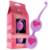 Feelztoys Desi pink Vaginal contractions dumbbell Loveballs,sex Vibrator for women