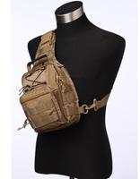 High quality nylon hamburger chest pack one shoulder cross-body gannet camera bag pvc
