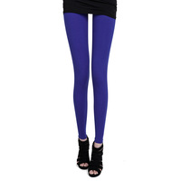 2013 fashion Women's brief solid Pure color 95% cotton elastic leggings/trousers,Free Shipping