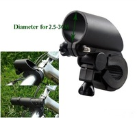 High Quality Plastic LC07 rotation flashlight mount Bicycle Clip (Rapid demolition/installation )