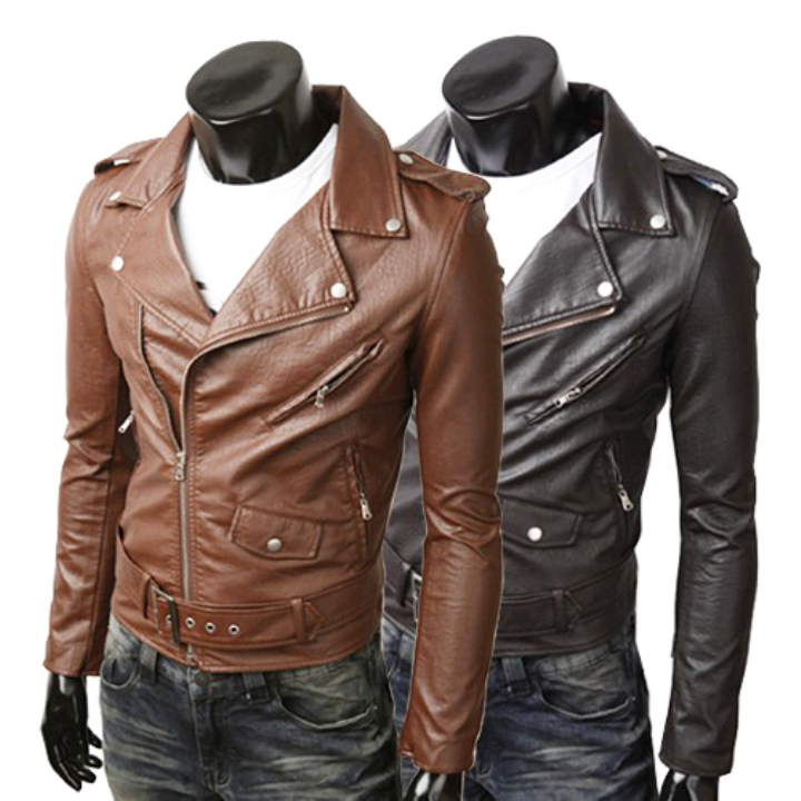 Leather Jacket Men Sale - JacketIn