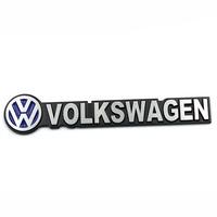 Free shipping 10pcs/lot High quality 3D VW power and sports car logo sticker Aluminum alloy Car Mental Sticker/3M back glue