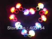 Led Light Flash barbed ring Thermoplastic Elastomer Rubber