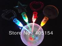 Wholesale Led Swizzle Sticks wedding supply Flashing Beer Swizzle Sticks 4pcs/pack 5pack(20pcs)/lot