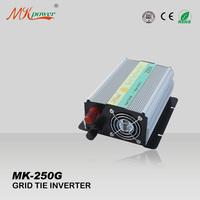 250W on grid tie inverter,  22-60VDC input, high quality on grid inverter, micro inverter