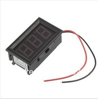 New Mini Digital Voltmeter 4.5-30V Red LED Vehicles Motor Voltage Panel Meter