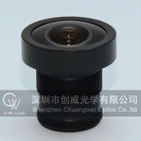 "2.1mm fish eye  CCTV Lens 1/3"" F2.0 for Security Camera 150 Degree Wide Angle View Free Shipping"
